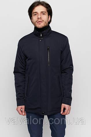 Куртка демисезонная Vavalon KD-915 navy, фото 2