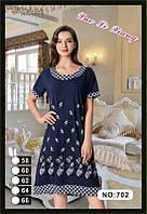 Женское летнее платье БАТАЛ  р-р 58-66 (масло) оптом в Одессе.