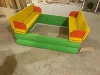 Пісочниця дерев'яна