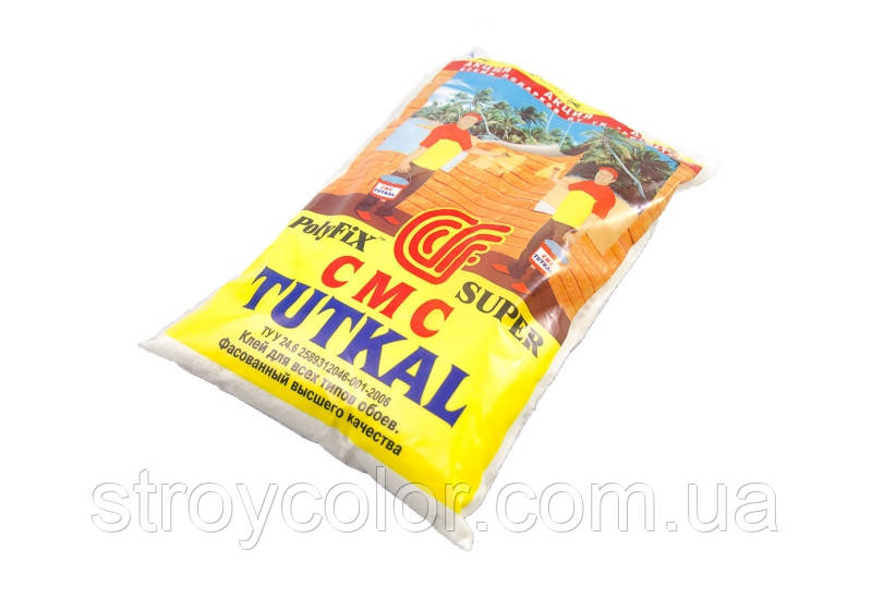 Клей обойный TUTKAL для всех типов обоев 240 гр.(Клей для обоев туткал)