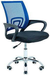 Кресло Спайдер синий усиленный Tilt ТМ Richman
