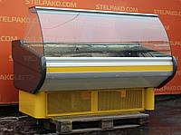 Холодильная витрина охлаждаемая «Mawi» 1.7 м. (Польша), Широкая выкладка 67 см., Б/у