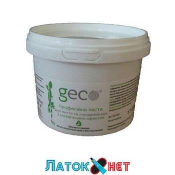 Паста для мытья рук профессиональная Geco 350 гр с каолином