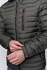 Куртка демисезонная Vavalon KD-908 Khaki, фото 3