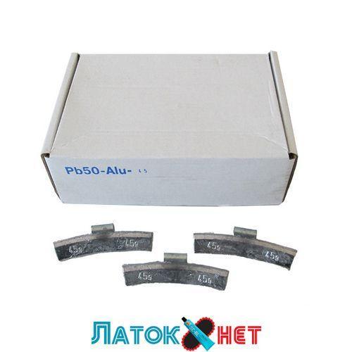 Грузик балансировочный для легкосплавных дисков Полтава 45 гр 50 шт/уп
