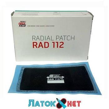 Ремонтный радиальный пластырь Tl 112 70 x 115мм Tip top Германия