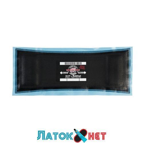 Ремонтный радиальный пластырь Tl 537 металлокордовый 110 х 285мм TipTop Германия