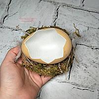 Декор Яйцо пасхальное, в гнезде, скорлупа