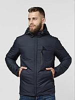 Демисезонная мужская куртка темно-синяя (46-54рр)