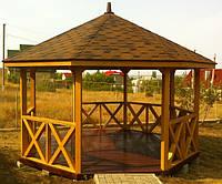 Беседка Elison 4х4 ПОД КЛЮЧ от производителя, беседка для дачи, садовая беседка, деревянная беседка
