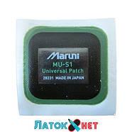 Универсальный пластырь MU S1 квадратный усиленный 60 мм х 60 мм Maruni No 28231, фото 2