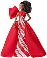 Коллекционная Barbie Праздничная  2019 Брюнетка