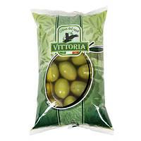 Оливки гігантські з кісточкою Vittoria Olive Verdi Dolci Giganti 850 г