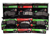 Тормозные колодки TOYOTA COROLLA (EE100) 1.3I 05/1992-04/1997 дисковые передние, Q-TOP (Испания)  QF0035E