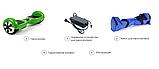 Гироскутер Smart Balance Pro 6.5 Синій Космос (Blue Space) TaoTao APP. Гироборд Про синій космос Автобаланс, фото 6