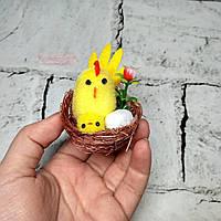 Декор пасхальный Курочка с цыпленком