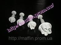 Плунжер для мастики Цветочки маленькие, фото 1