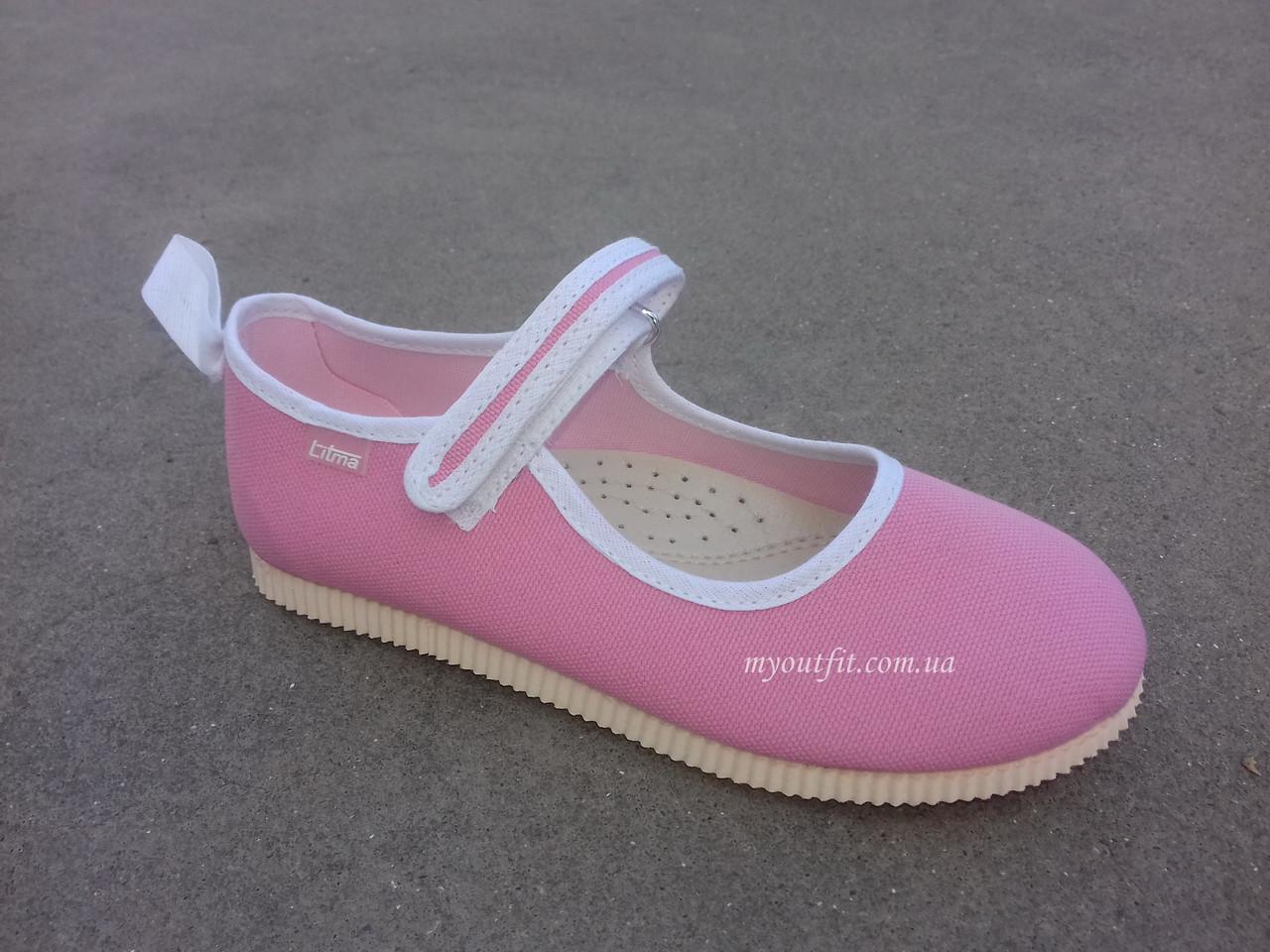 Детские туфли Розовые Размеры 22-31