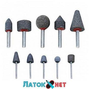 Шлифовальные насадки 10 штук А1101 Ampro