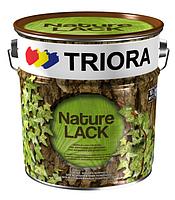 Лак акриловый глянцевый Triora 1 л  для декоративной отделки деревянных и минеральных поверхностей