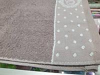 Махровое полотенце лицевое 50х90 100% хлопок (пл.450г/м2)