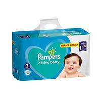 Подгузники Pampers Active Baby 3 Midi (6-10кг) 104шт Giant pack