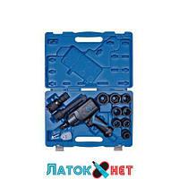 Пневматический ударный гайковерт 3/4 с набором головок 12 предметов 64801AMP KingTony