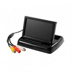 Монитор для камеры заднего вида 4.3д складной Распродажа