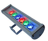 Светильник уличный светодиодный архитектурный Zoro CS600 RGB, 25град, подсветка колонн фасада