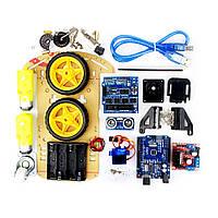 Стартовый набор Arduino конструктор двухколёсный 🚗 Car Kit 2 WD - Arduino UNO автомобиль