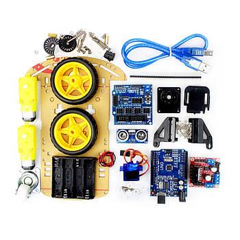 Стартовий набір Arduino конструктор двоколісний 🚗 Car Kit 2 WD - Arduino UNO автомобіль