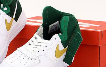 Мужские кроссовки Nike Air Force 1 Mid NBA, nike air force high (2 ЦВЕТА), фото 3