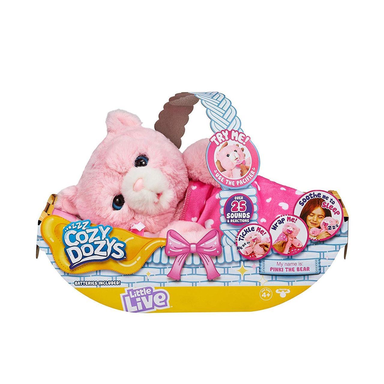 Little Live Pets Интерактивный розовый Медвежонок