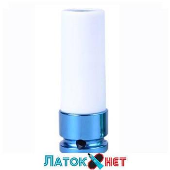 Головка в пластике 1/2 17 мм ударная длинная для шиномонтажа 494517MX King Tony