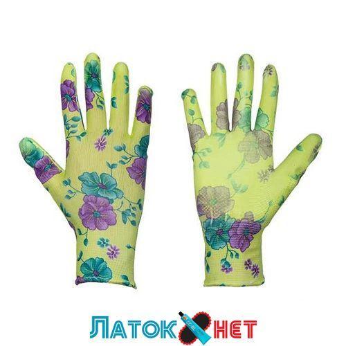 Защитные перчатки, Pure Floxy, полиуретан, размер 8 RWPFL8 Bradas