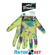 Защитные перчатки, Pure Floxy, полиуретан, размер 8 RWPFL8 Bradas, фото 2