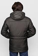 Куртка демисезонная Vavalon KD-197 (907) Khaki, фото 2