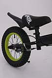 Беговел Sigmа Racer BA  с ручным тормозом 14 дюймов, фото 5
