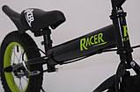 Беговел Sigmа Racer BA  с ручным тормозом 14 дюймов, фото 3