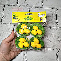 Декор Яйца пасхальные, гнездо