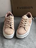 Кроссовки, криперы Спортивные туфли розовые на платформе, фото 5