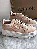 Кроссовки, криперы Спортивные туфли розовые на платформе, фото 3