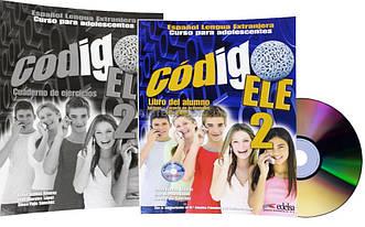 Испанский язык / Codigo ELE / Libro+de ejercicios+CD. Учебник+Тетрадь (комплект), 2/ Edelsa