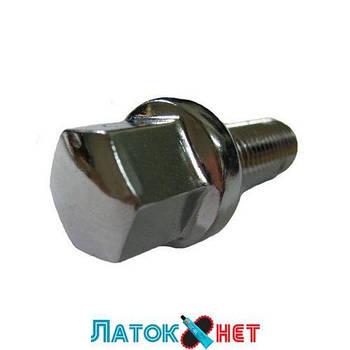 Набор болтов на колесные диски резьба М12 шаг 1.5 длина резьбы 30 мм 16шт 646216 Force