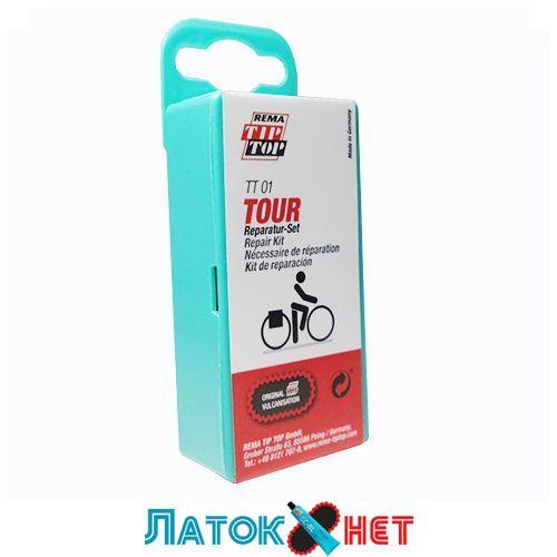 Аптечка для ремонта велосипедных камер и шин ТТ-01 TOUR 5064003 Tip top Германия