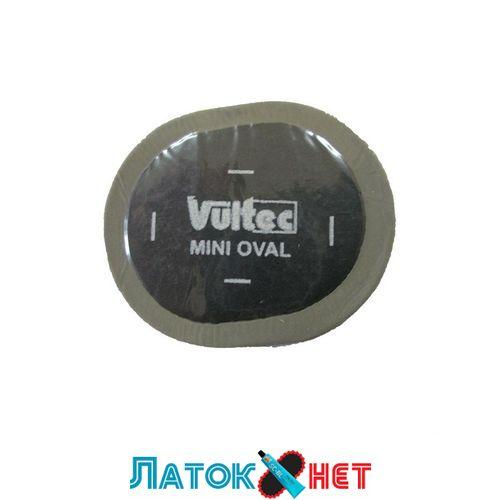 Латка овальная 40х30 мм упаковка 50 штук 16V Mini Oval Vultec