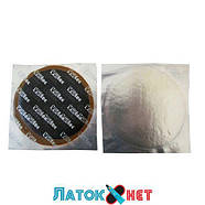 Латка камерная Vultec Евростиль круглая d 80 мм упаковка 20 штук 013V Large Round, фото 2