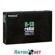 Радиальный пластырь R 13 75 х 90 мм 1 слой корда Россвик Rossvik, фото 2