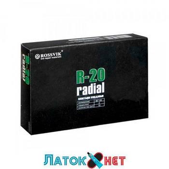 Радиальный пластырь R 20 90 х 135 мм 2 слоя корда Россвик Rossvik