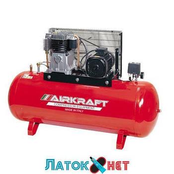 Компрессор высокого давления 15 bar 300 л 858 л/мин 380 V 5,5 кВт AK300-15BAR-858-380 Airkraft